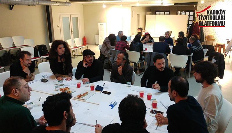 Kadıköy Tiyatroları Platformu Çalıştay Sonucu