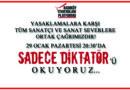 29 OCAK PAZARTESİ 20.30'DA BİRLİKTE OKUYORUZ.!