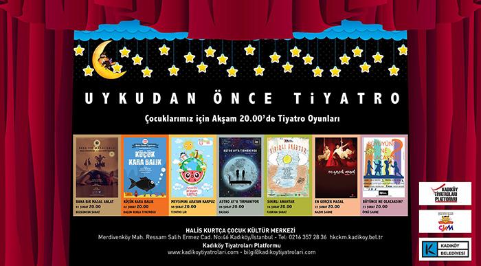 Uykudan Önce Tiyatro Şubat Programı